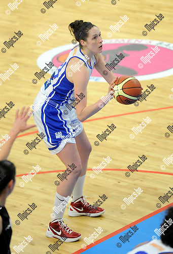 2013-12-08 / Basketbal / seizoen 2013-2014 / Sint-Katelijne-Waver - Kangoeroes Boom / Krysten Boogaard<br /><br />Foto: Mpics.be