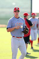 Brodie Greene - Cincinnati Reds - 2010 Instructional League.Photo by:  Bill Mitchell/Four Seam Images..