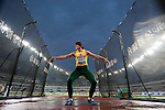 SHANGHAI, CHINA - MAY 19:  Zinaida Sendriute of Lithuania competes the Women DiscusThrow during the Samsung Diamond League on May 19, 2012 at the Shanghai Stadium in Shanghai, China.  Photo by Victor Fraile / The Power of Sport Images