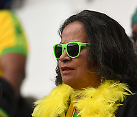 20190614 - REIMS , FRANCE : Illustration picture shows the fans during the female soccer game between Jamaica  and Italy , the second game for both teams in group C during the FIFA Women's  World Championship in France 2019, Friday 14th June 2019 at the Auguste Delaune Stadium in Reims , France .  PHOTO SPORTPIX.BE | DIRK VUYLSTEKE