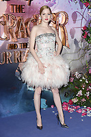 "Ellie Bamber<br /> arriving for the European premiere of ""The Nutcracker and the Four Realms"" at the Vue Westfield, White City, London<br /> <br /> ©Ash Knotek  D3458  01/11/2018"