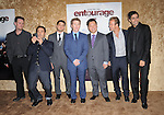 Kevin Dillon, Jeremy Piven, Jerry Ferrara,Kevin Connolly,Rex Lee,Scott Caan & Adrian Grenier  at the HBP Premiere of The 7th Season of Entourage held at Paramount Picture Studios in Hollywood, California on June 16,2010                                                                               © 2010 Debbie VanStory / Hollywood Press Agency