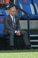 St Mirren Manager Tommy Craig in the Kilmarnock v St Mirren Scottish Professional Football League Premiership match played at Rugby Park, Kilmarnock on 13.9.14.