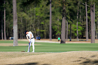 Virginia Elena Carta (ITA) on the 1st during the second round of the Augusta National Womans Amateur 2019, Champions Retreat, Augusta, Georgia, USA. 04/04/2019.<br /> Picture Fran Caffrey / Golffile.ie<br /> <br /> All photo usage must carry mandatory copyright credit (&copy; Golffile | Fran Caffrey)
