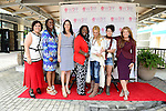 "COCONUT GROVE, FL - MARCH 30: Nevine Labib Georggi; Yvonne Mccormack Lyons; Cecilla Peck, Marchet McWhite, Mercedes Ortega Vega, Pamela Hersch; Michele Gillen attend the Women's International Film Festival 2014 - Brunch and the screening of ""Brave Miss World"" also received the awards for the best films of the festival on March 30, 2014 in Coconut Grove, Florida. (Photo by Johnny Louis/jlnphotography.com)"