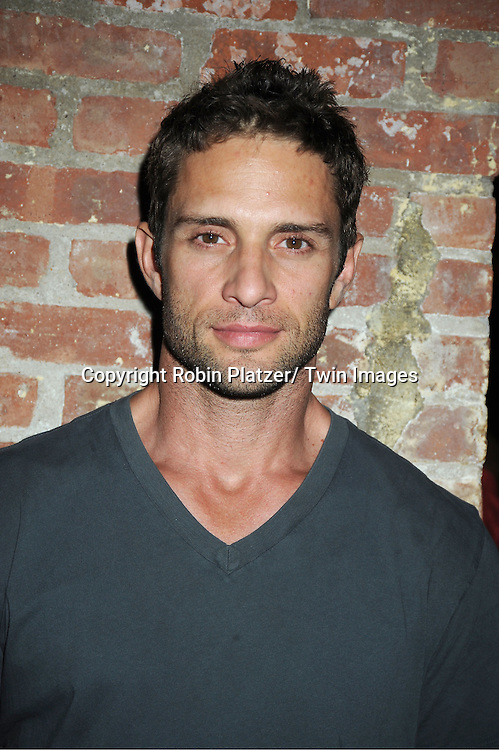 David Fumero attending the 5th Annual Sean Ringgold Fan Club Party on August 12, 2011 at HB Burger's Sunken Bar in New York City.