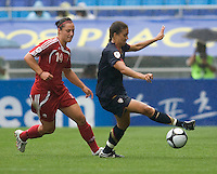 Shannon Boxx, Melissa Tancredi.  The USWNT defeated Canada, 1-0, at Suwon World Cup Stadium in Suwon, South Korea, to win the Peace Queen Cup.