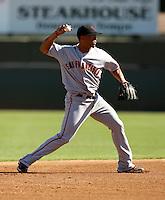 Emmanuel Burris / Scottsdale Scorpions 2008 Arizona Fall League..Photo by:  Bill Mitchell/Four Seam Images