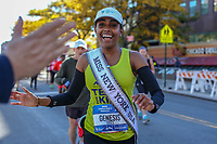 NOVA YORK, EUA, 04.11.2018 - MARATONA-EUA - Camila Genesis Miss New York USA 2018 durante é vista após a largada da Maratona da cidade de Nova York nos Estados Unidos neste domingo, 04. (Foto: William Volcov/Brazil Photo Press)