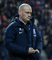 Preston North End's manager Alex Neil   <br /> <br /> Photographer Andrew Kearns/CameraSport<br /> <br /> The EFL Sky Bet Championship - Preston North End v Derby County - Friday 1st February 2019 - Deepdale Stadium - Preston<br /> <br /> World Copyright © 2019 CameraSport. All rights reserved. 43 Linden Ave. Countesthorpe. Leicester. England. LE8 5PG - Tel: +44 (0) 116 277 4147 - admin@camerasport.com - www.camerasport.com
