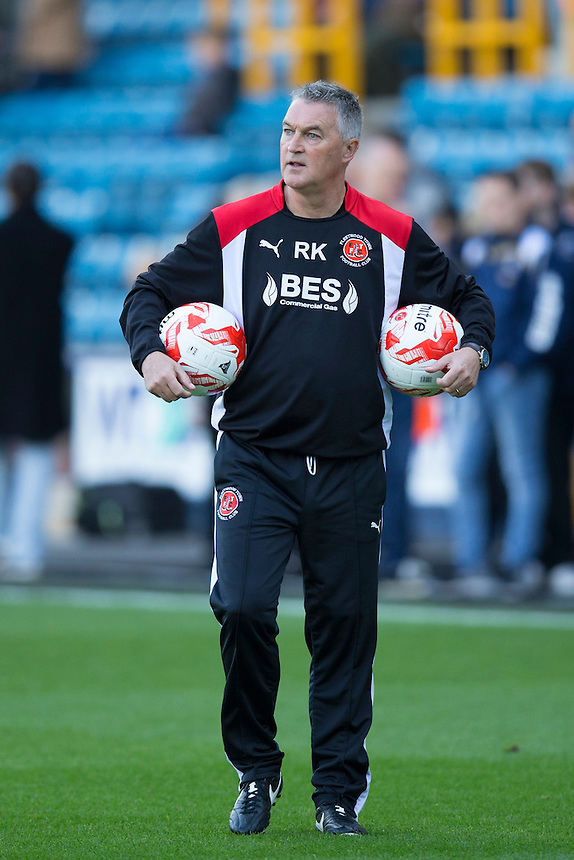 Fleetwood Town's Assistant Head Coach Rob Kelly<br /> <br /> Photographer Craig Mercer/CameraSport<br /> <br /> The EFL Sky Bet League One - Millwall v Fleetwood Town - Saturday 22nd October 2016 - The Den - London<br /> <br /> World Copyright &copy; 2016 CameraSport. All rights reserved. 43 Linden Ave. Countesthorpe. Leicester. England. LE8 5PG - Tel: +44 (0) 116 277 4147 - admin@camerasport.com - www.camerasport.com