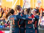 UTRECHT - Caia Van Maasakker (Ned) scoort 1-0   tijdens   de Pro League hockeywedstrijd wedstrijd , Nederland-China (6-0) .    COPYRIGHT  KOEN SUYK
