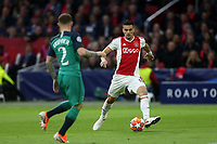 Dusan Tadic of Ajax and Kieran Trippier of Tottenham Hotspur during AFC Ajax vs Tottenham Hotspur, UEFA Champions League Football at the Johan Cruyff Arena on 8th May 2019