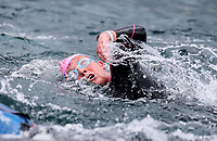 Kate Drydon. Swimming New Zealand Open Water Championships, 10km Epic, Lake Taupo, Waikato, New Zealand, Saturday 13 January 2018. Photo: Simon Watts/www.bwmedia.co.nz