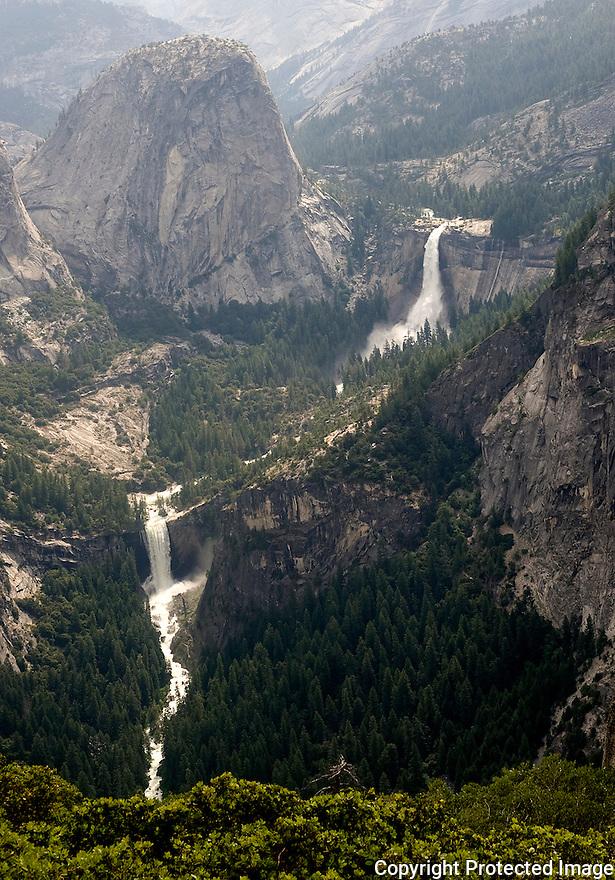 Nevada and Vernal Falls, Yosemite - 2011