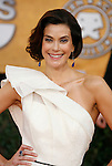 LOS ANGELES, CA. - January 25: Actress Teri Hatcher arrives at the 15th Annual Screen Actors Guild Awards held at the Shrine Auditorium on January 25, 2009 in Los Angeles, California.