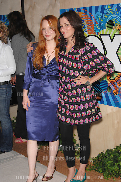 Lauren Ambrose (left) & Parker Posey at Fox TV's All-Star Party on the Santa Monica Pier..July 24, 2007  Los Angeles, CA.Picture: Paul Smith / Featureflash