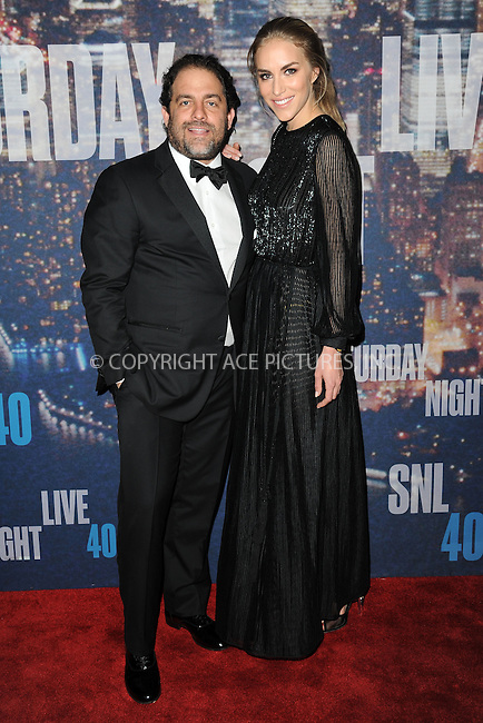 WWW.ACEPIXS.COM<br /> February 15, 2015 New York City<br /> <br /> Brett Ratner walks the red carpet at the SNL 40th Anniversary Special at 30 Rockefeller Plaza on February 15, 2015 in New York City.<br /> <br /> Please byline: Kristin Callahan/AcePictures<br /> <br /> ACEPIXS.COM<br /> <br /> Tel: (646) 769 0430<br /> e-mail: info@acepixs.com<br /> web: http://www.acepixs.com