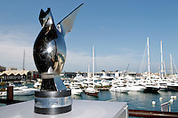23.06.2012. Valencia, Spain. FIA Formula One World Championship 2012 Grand Prix of Europe Qualifying Session.  The Picture The winner's trophy
