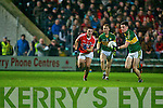 Ciaran Keatin Kerry in action  Cork in the Cabury Musster U21 Quarter Final 2014 at Austin Stack Park Tralee on Wednesday night.