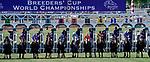 November 1, 2019 : on Breeders' Cup Championship Friday at Santa Anita Park in Arcadia, California on November 1, 2019. Chris Crestik/Eclipse Sportswire/Breeders' Cup/CSM