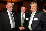 From left: Mike Major, Gordon McIntosh and David Cochrane at the UK Energy Excellence reception at the Hilton Post Oak Hotel Monday April 30,2012. (Dave Rossman Photo)