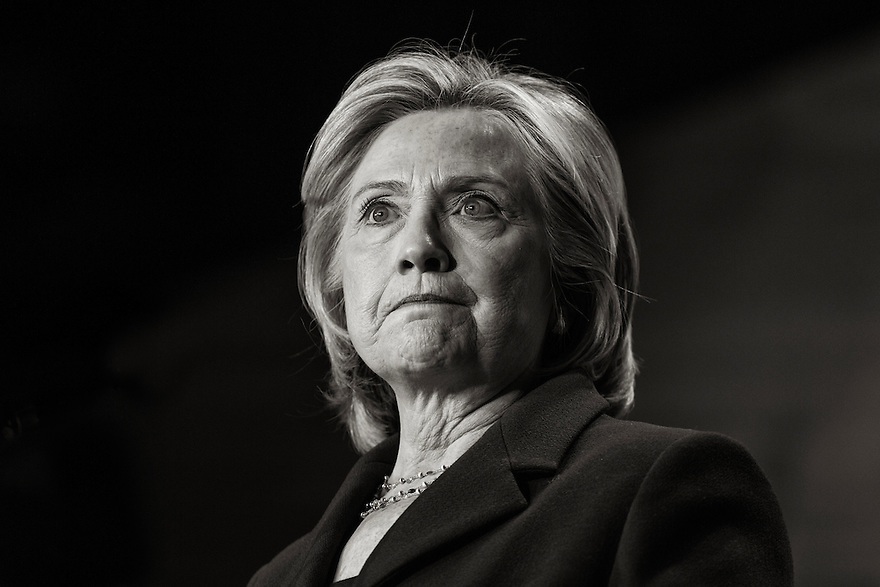 Former U.S. Secretary of State Hillary Clinton speaks at the the 30th Anniversary National Conference of Emily's List in Washington.