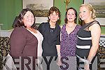 Pictured at the Killarney Community College 25th anniversary social in the Dromhall Hotel, Killarney on Friday night were Deirdre Fleming, Breda Fitzgerald, Michelle O'Mahony and Denise O'Sullivan.