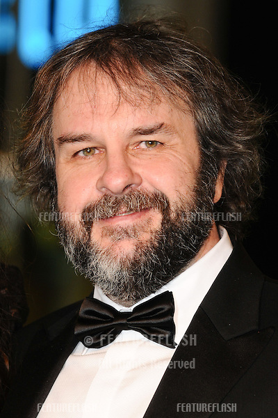 "Peter Jackson arriving for the premiere of ""The Hobbit: An Unexpected Journey"" at the Odeon Leicester Square, London. 12/12/2012 Picture by: Steve Vas / Featureflash"