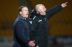 St Johnstone v Ross County...15.03.14    SPFL<br /> Derek Adams and Neale Cooper<br /> Picture by Graeme Hart.<br /> Copyright Perthshire Picture Agency<br /> Tel: 01738 623350  Mobile: 07990 594431