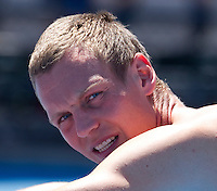 TOMAS BERDYCH (CZE) practicing in Melbourne Park..17/01/2012, 17th January 2012, 17.01.2012..The Australian Open, Melbourne Park, Melbourne,Victoria, Australia.@AMN IMAGES, Frey, Advantage Media Network, 30, Cleveland Street, London, W1T 4JD .Tel - +44 208 947 0100..email - mfrey@advantagemedianet.com..www.amnimages.photoshelter.com.