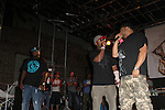 "Crooked I, Joell Ortiz, and Royce da 5'9"" of Slaughterhouse peform At The Well, Brooklyn NY   9/8/12"