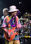 Carlos Santana performs with Jose Feliciano at the House of Blues in Las Vegas