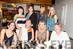 Friends from Tralee having a night out on Saturday night at Bella Bia's  Front l-r  Angela Fitzgerald, Tina Sugrue, Helen McElligott and Ann Slattery. Back l-r  Joan Naughton, Tracey Kearney, Bernie Summers and Clare Slattery.