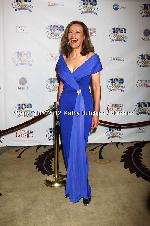 """LOS ANGELES - FEB 26:  Marilyn McCoo arrives at the """"Night of a 100 Stars"""" Oscar Viewing Party at the Beverly Hills Hotel on February 26, 2012 in Beverly Hills, CA."""
