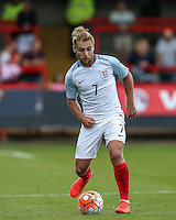 Harry Chapman (Middlesbrough) of England during the International match between England U20 and Brazil U20 at the Aggborough Stadium, Kidderminster, England on 4 September 2016. Photo by Andy Rowland / PRiME Media Images.