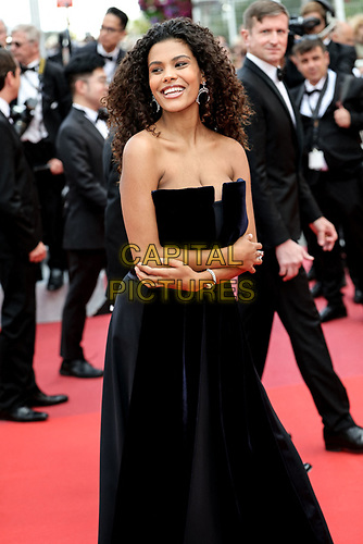 "CANNES - MAY 15:  Tina Kunakey arrives to the premiere of "" LES MISÉRABLES "" during the 2019 Cannes Film Festival on May 15, 2019 at Palais des Festivals in Cannes, France.      <br /> CAP/MPI/IS/LB<br /> ©LB/IS/MPI/Capital Pictures"