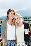 Cherul O'Donnell and Jeanette Kennedy Killarney at the Killarney Races on Sunday