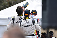 IMSA WeatherTech SportsCar Championship<br /> Chevrolet Sports Car Classic<br /> Detroit Belle Isle Grand Prix, Detroit, MI USA<br /> Saturday 3 June 2017<br /> 93, Acura, Acura NSX, GTD, Andy Lally, Katherine Legge<br /> World Copyright: Richard Dole<br /> LAT Images<br /> ref: Digital Image RD_DTW_17_0415