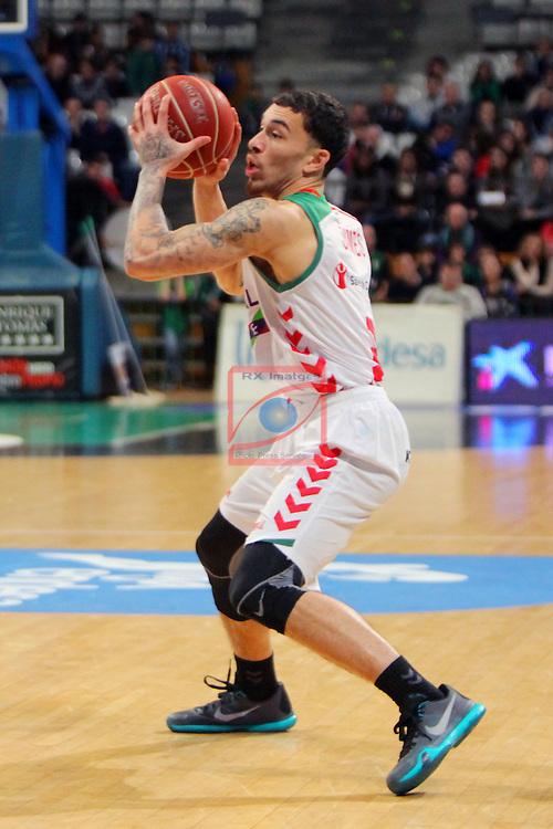 League ACB-Endesa 2015-2016. Game: 16.<br /> FIATC Joventut vs Laboral Kutxa Baskonia: 68-89.<br /> Mike James.