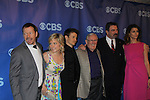 Cast Blue Bloods - Donnie Wahlberg, Amy Carlson, Will Estes, Lou Cariou, Tom Selleck, Bridget Moynahan at the CBS Upfront 2011 on May 18, 2011 at Lincoln Center, New York City, New York. (Photo by Sue Coflin/Max Photos)
