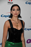 PHILADELPHIA, PA - DECEMBER 05: Dua Lipa attends Q102's Jingle Ball 2018 at Wells Fargo Center on December 5, 2018 in Philadelphia, Pennsylvania. <br /> CAP/MPI/IS<br /> &copy;IS/MPI/Capital Pictures