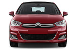 Straight front view of a 2013 Citroen C4 Exclusive 5 Door Hatchback 2WD