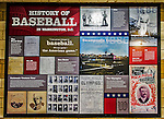 14 April 2013: Historic Dates are displayed on the main concourse prior to a game between the Atlanta Braves and the Washington Nationals at Nationals Park in Washington, DC. The Braves shut out the Nationals 9-0 to sweep their 3-game series. Mandatory Credit: Ed Wolfstein Photo *** RAW (NEF) Image File Available ***