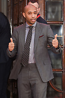 Thierry Henry<br /> arrives for the The Prince&rsquo;s Trust Celebrate Success Awards 2017 at the Palladium Theatre, London.<br /> <br /> <br /> &copy;Ash Knotek  D3241  15/03/2017