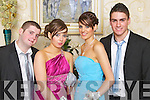 STYLISH: Pictured at the Mounthawk debs at the Abbeygate on Thursday night are pictured l-r: Gary Horgan, Megan O'Sullivan, Lorraine Truslove and Cillian Foale.