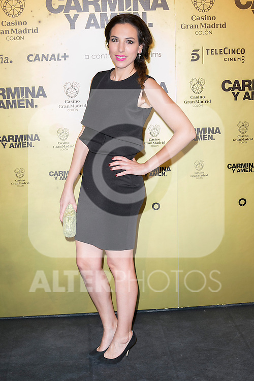 "Alicia Rubio attend the Premiere of the movie ""Carmina y Amen"" at the Callao Cinema in Madrid, Spain. April 28, 2014. (ALTERPHOTOS/Carlos Dafonte)"