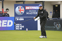 Keith Pelley CEO European Tour during the Hero Pro-am at the Betfred British Masters, Hillside Golf Club, Lancashire, England. 08/05/2019.<br /> Picture Fran Caffrey / Golffile.ie<br /> <br /> All photo usage must carry mandatory copyright credit (© Golffile | Fran Caffrey)