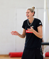 Silver Ferns Ferns Training Sydney 101014