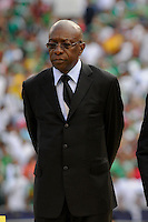 CONCACAF president Jack Warner. Mexico (MEX) defeated the United States (USA) 5-0 during the finals of the CONCACAF Gold Cup at Giants Stadium in East Rutherford, NJ, on July 26, 2009.
